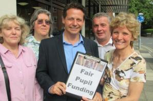 Droitwich campaigners call for fairer schools funding