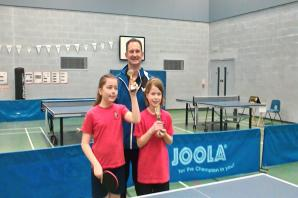 Success for young players at Worcestershire Schools' Individual Table Tennis Championships