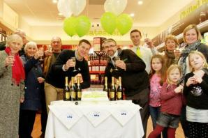 Warner's Budgens celebrates 10 years in Broadway with treats for its customers